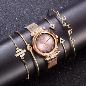 Jewelry - Luxury Women Watch Fashion Elegant Magnet